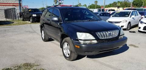 2001 Lexus RX 300 for sale at Marvin Motors in Kissimmee FL