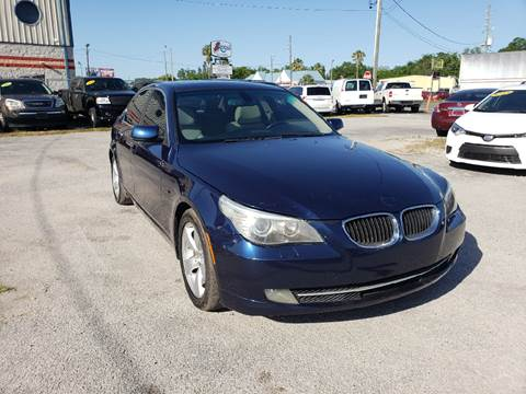 2008 BMW 5 Series for sale at Marvin Motors in Kissimmee FL