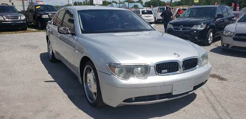 2002 BMW 7 Series for sale at Marvin Motors in Kissimmee FL