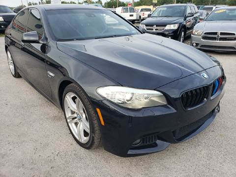 2011 BMW 5 Series for sale at Marvin Motors in Kissimmee FL