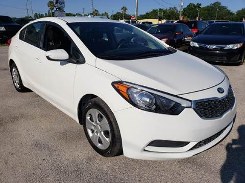 2016 Kia Forte for sale at Marvin Motors in Kissimmee FL