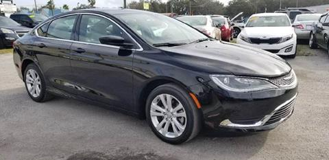 2015 Chrysler 200 for sale at Marvin Motors in Kissimmee FL