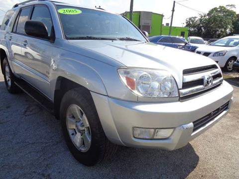 2005 Toyota 4Runner for sale at Marvin Motors in Kissimmee FL