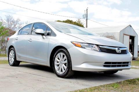 2012 Honda Civic for sale at Marvin Motors in Kissimmee FL
