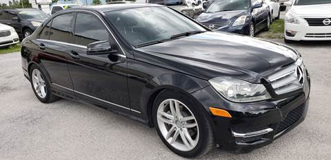 2013 Mercedes-Benz C-Class for sale at Marvin Motors in Kissimmee FL