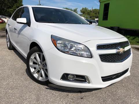 2013 Chevrolet Malibu for sale at Marvin Motors in Kissimmee FL