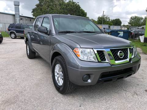 2018 Nissan Frontier for sale at Marvin Motors in Kissimmee FL