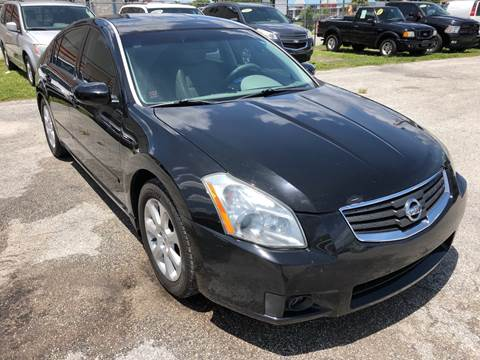 2008 Nissan Maxima for sale at Marvin Motors in Kissimmee FL