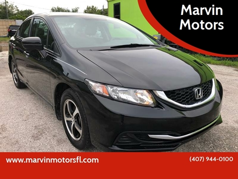 2015 Honda Civic for sale at Marvin Motors in Kissimmee FL