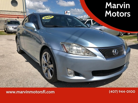 2006 Lexus IS 250 for sale at Marvin Motors in Kissimmee FL