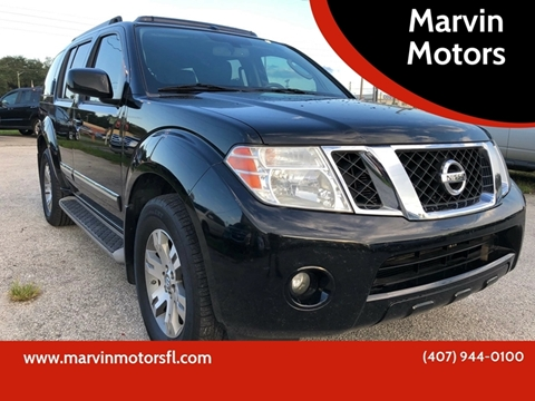 2012 Nissan Pathfinder for sale at Marvin Motors in Kissimmee FL