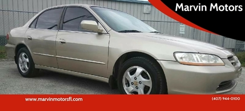 Honda Accord For Sale In Kissimmee Fl Marvin Motors