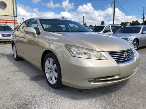 2007 Lexus ES 350 for sale at Marvin Motors in Kissimmee FL