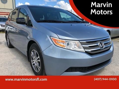 2012 Honda Odyssey For Sale >> Honda Odyssey For Sale In Kissimmee Fl Marvin Motors