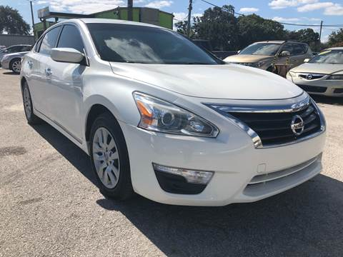 2014 Nissan Altima for sale at Marvin Motors in Kissimmee FL