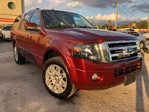 2012 Ford Expedition for sale at Marvin Motors in Kissimmee FL