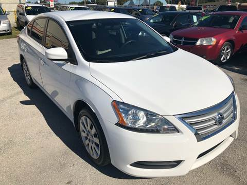 2015 Nissan Sentra for sale at Marvin Motors in Kissimmee FL