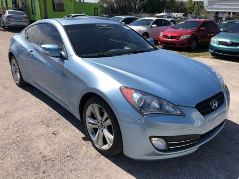 2010 Hyundai Genesis Coupe for sale at Marvin Motors in Kissimmee FL