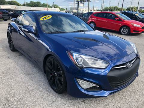 2015 Hyundai Genesis Coupe for sale at Marvin Motors in Kissimmee FL