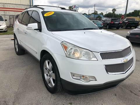 2009 Chevrolet Traverse for sale at Marvin Motors in Kissimmee FL