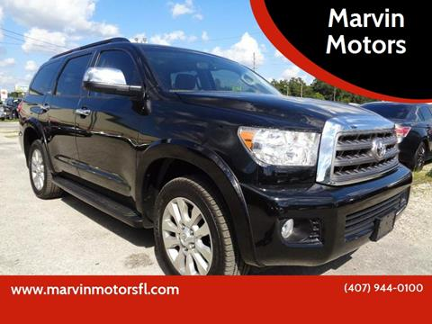 2014 Toyota Sequoia for sale at Marvin Motors in Kissimmee FL