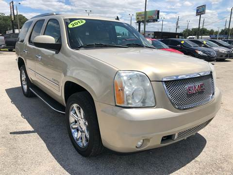 2012 GMC Yukon for sale at Marvin Motors in Kissimmee FL