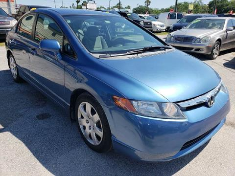 2006 Honda Civic for sale at Marvin Motors in Kissimmee FL