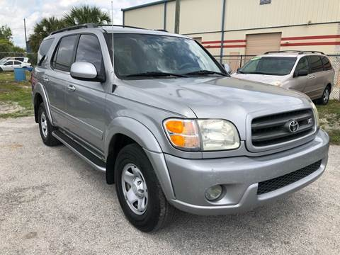 2004 Toyota Sequoia for sale at Marvin Motors in Kissimmee FL