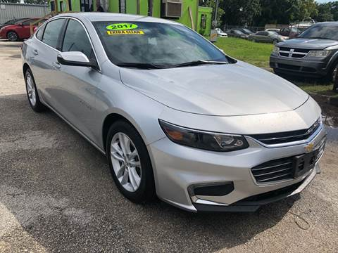 2017 Chevrolet Malibu for sale at Marvin Motors in Kissimmee FL