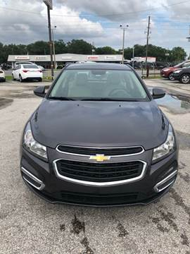 2016 Chevrolet Cruze Limited for sale at Marvin Motors in Kissimmee FL