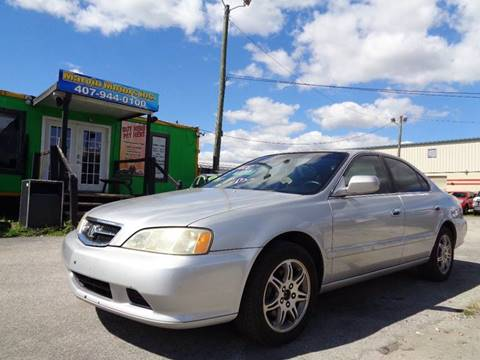 1999 Acura TL for sale at Marvin Motors in Kissimmee FL