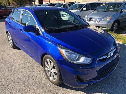 2012 Hyundai Accent for sale at Marvin Motors in Kissimmee FL