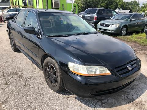 2002 Honda Accord for sale at Marvin Motors in Kissimmee FL