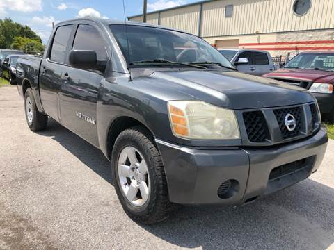 2005 Nissan Titan for sale at Marvin Motors in Kissimmee FL