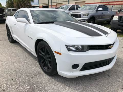 2015 Chevrolet Camaro for sale at Marvin Motors in Kissimmee FL