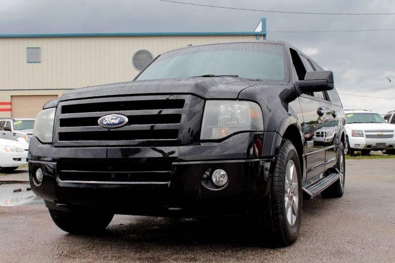2007 FORD EXPEDITION EL LIMITED 4DR SUV 4X4 black internet cash specialguaranteed fina