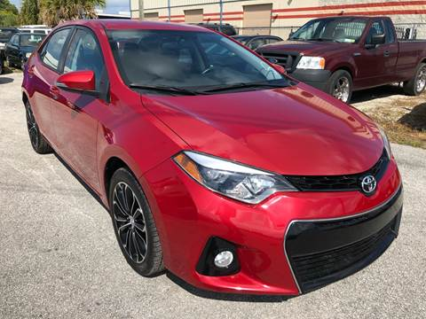 2016 Toyota Corolla for sale at Marvin Motors in Kissimmee FL