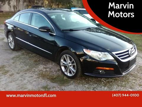 2010 Volkswagen CC for sale at Marvin Motors in Kissimmee FL