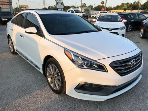 2017 Hyundai Sonata for sale at Marvin Motors in Kissimmee FL