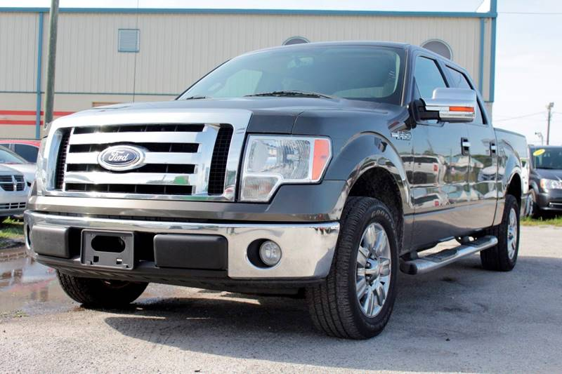 2009 FORD F-150 XLT 4X2 4DR SUPERCREW STYLESIDE pewter there are no electrical problems with this