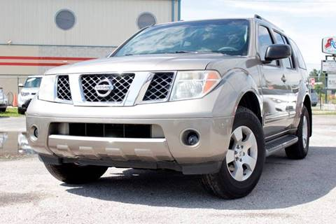 2007 Nissan Pathfinder for sale at Marvin Motors in Kissimmee FL