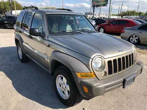 2006 Jeep Liberty for sale at Marvin Motors in Kissimmee FL