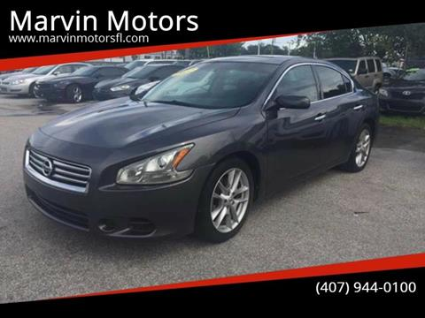 2013 Nissan Maxima for sale at Marvin Motors in Kissimmee FL
