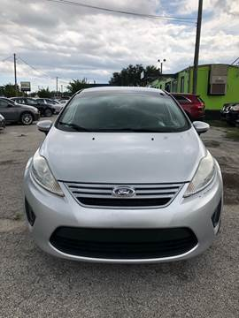 2013 Ford Fiesta for sale at Marvin Motors in Kissimmee FL