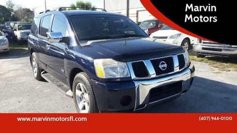 2006 Nissan Armada for sale at Marvin Motors in Kissimmee FL