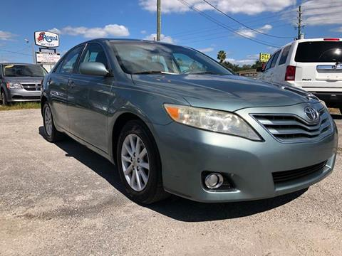 2010 Toyota Camry for sale at Marvin Motors in Kissimmee FL