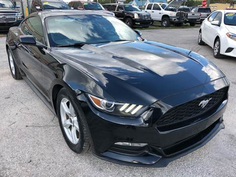 2017 Ford Mustang for sale at Marvin Motors in Kissimmee FL