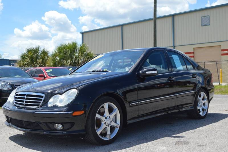 2007 MERCEDES-BENZ C-CLASS C230 SPORT 4DR SEDAN black internet cash specialguaranteed f
