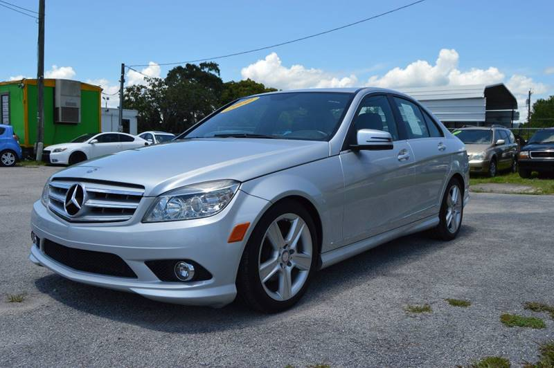 2010 MERCEDES-BENZ C-CLASS C300 SPORT 4MATIC AWD 4DR SEDAN silver internet cash special