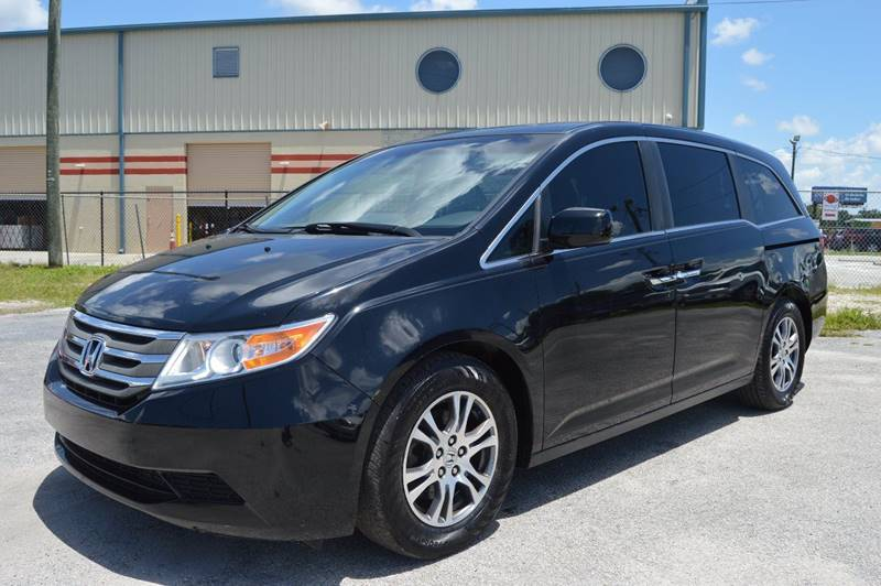 2012 HONDA ODYSSEY EX 4DR MINI VAN black internet cash specialguaranteed financing ava